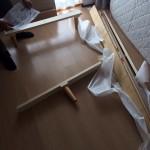 稲毛区にて家具の組み立て