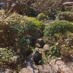 千葉市若葉区にて庭石の粉砕処分