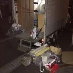 花見川区にて、家具、不燃ゴミの回収処分