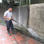 渋谷区にて一軒家の外壁清掃を行いました。