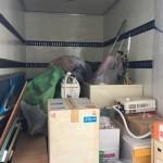 千葉県市川市 浴槽や湯沸かし器等家電&不燃物の不用品回収を行いました。
