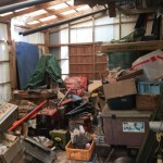 千葉市四街道市|倉庫丸々(農機具・工具含む)の不用品回収を行いました。