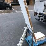 船橋市|物干し竿、本棚の回収