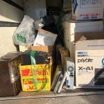 市川市|不用品回収の見積もり後、当日作業