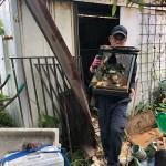 富津市|物置解体、残置物回収作業