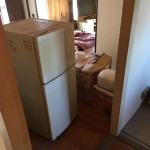 千葉市花見川区|冷蔵庫、家財の不用品回収作業