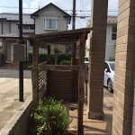 千葉市|自転車置き場、小屋の解体作業